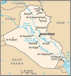 Tigris Y Eufrates Mapa.Crisis De Agua En Irak El Creciente Peligro De La